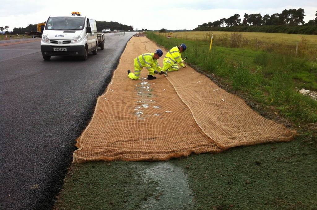 C125BN installed in drainage channel
