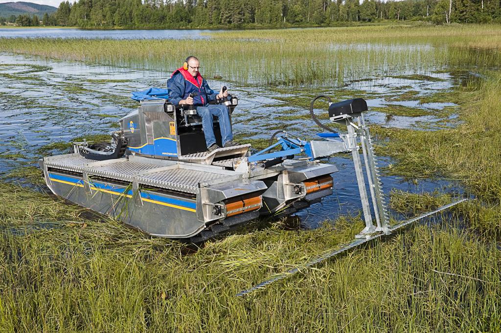 lake cutter machine
