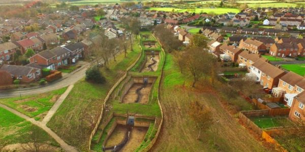 Flood Alleviation and SuDS management at Witton Gilbert