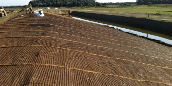 Vmax C500 installed for spillway protection